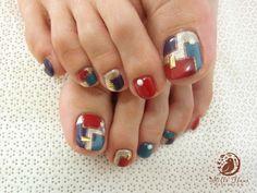 Toenails Nail Designs Toenails, Feet Nail Design, Pedicure Designs, Pedicure Nail Art, Toe Nail Designs, Nail Polish Designs, Pretty Toe Nails, Cute Toe Nails, Pretty Toes