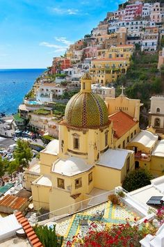 I've not yet been to Positano, Italy, but I sure would love to see it.