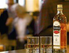 Bushmills Irish Whiskey made at Ireland's oldest working distillery in Co Antrim, Northern Ireland