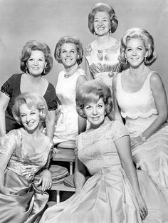 """The King Sisters were an American big band-era vocal quartet with their biggest hit in 1958 with"""" Imagination""""."""