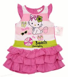 A venit caldura si e timpul sa trecem la rochite de vara! Rochite de vara cu volanase pentru fetite 6-24 luni Pret: 51.00 lei http://hainute-fetite.ro/produs/rochie-vara-bebe-charmmy-kittyvolane-roz/