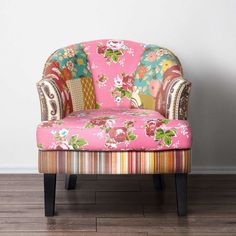 PATCH Patchwork Sessel Rosa