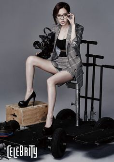 Sunny looks sultry in her photo shoot with The Celebrity.