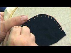 Buttonhole/Blanket Stitch (Video Tutorial)