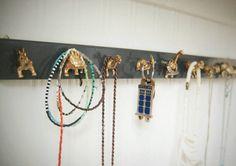 Dinosaur sieraden organisator Jewelry Rack hanger door MidCityMod