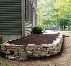 Outdoor garden decor landscaping flower beds ideas 29