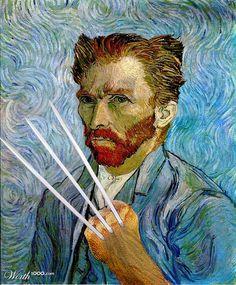 Wolverine van Gogh - Worth1000 Contests