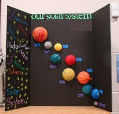 Super science art projects for kids solar system ideas Solar System Model Project, Solar System Science Project, Solar System Projects For Kids, Solar System Art, Solar System Planets, Solar Projects, Solar System Crafts, 5th Grade Science Projects, Science Fair Projects Boards