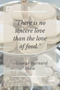 """""""There is no sincere love than the love of food."""" - George Barnard Shaw.  Inspired by the movie Burnt in theaters Oct. 23!"""