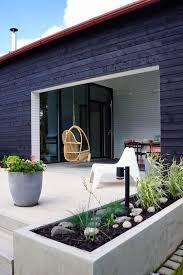Nordic garden design, designed by Green Idea. Love the covered area. Outside Living, Outdoor Living Areas, Outdoor Spaces, Outdoor Decor, Pergola Patio, Backyard, Landscape Design, Garden Design, Living Etc