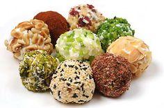 Savory cheese ball fat bombs