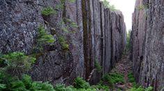 Der Skuleskogen Nationalpark bietet Schluchten...