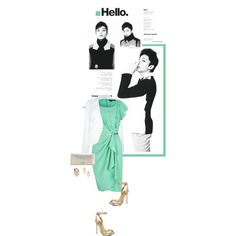 """Hello."" by kokafor934 on Polyvore"