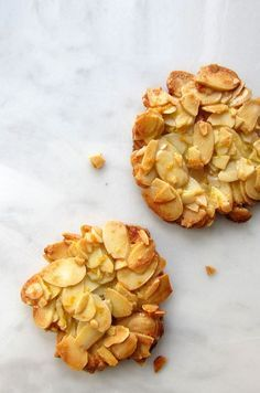 Almond Orange Florentines Recipe with only 4 ingredients.