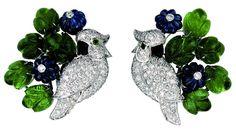 Cartier, Bird Earrings @ReinaIndy https://www.facebook.com/ReinaIndybelleza