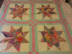 Old meets new - vintage stars my grandmother hand sewed