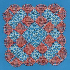 Coral Square - Torchon Lace Making Pattern Download