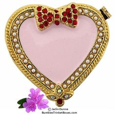 Pink Heart With Bow
