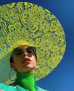 Lacy Sun Hat 🎆⠀ By: Jo Miller & Marta Jakubowski for Koibird⠀ Creative Photography, Fashion Photography, Foto Fantasy, Anna Karina, Fashion Details, Fashion Design, Mode Inspiration, Looks Style, Editorial Fashion