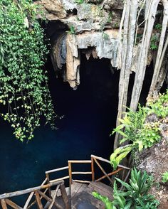 When I first spotted this #cenote I thought it looked like a mood ring buried beneath the earth's surface