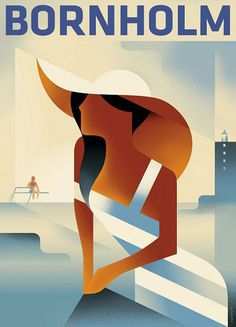 Mads Berg Art-deco illustration Posters | Trendland: Fashion Blog & Trend Magazine