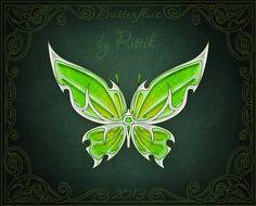 Butterflies - Nettle by Rittik.deviantart.com on @DeviantArt
