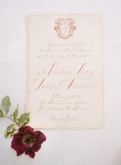 Vintage inspired wedding invitation: http://www.stylemepretty.com/little-black-book-blog/2014/12/15/amalfi-coast-wedding-inspiration/ | Photography: Sandra Aberg - http://wedding.sandraaberg.com/