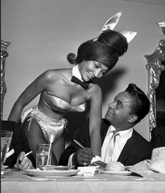 Black History,  The playboy bunny costume was made by a black woman designer named Zelda Wynn Valdes. Hmmm, who knew! *cues the more you know music*