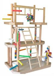 diy macaw play stands | Bird Cages - All About Bird Cages
