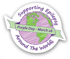 March 26 is Purple Day, an international day to raise awareness and understanding of epilepsy. To celebrate, I'm sharing my own epilepsy story. Purple Day, Wearing Purple, Epilepsy, Know Who You Are, March, Pickle, Cure, Community, Pickles