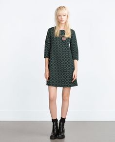 FITTED DRESS-Dresses-TRF | ZARA United States