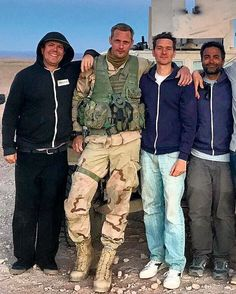 Alexander Skarsgard — Wrap & fan photos of Alex filming Hold the Dark in Morocco