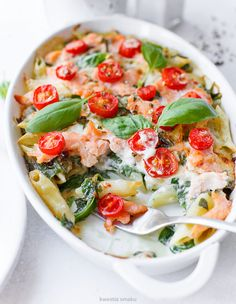 Healthy Food, Healthy Recipes, Penne, Caprese Salad, Food Ideas, Food And Drink, Favorite Recipes, Eat, Finger Food
