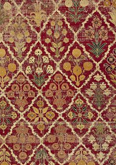 William Morris Fan Club: Mughal Empire Florals at the V&A Zentangle, Textures Patterns, Print Patterns, William Morris Art, Mughal Empire, Indian Prints, Ppr, Paisley, Motif Floral