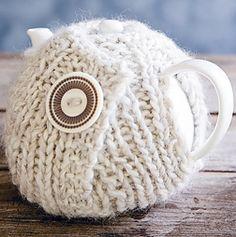 ❥Knit & Crochet Tea Cosies, Mug Hug Snugs and Cuppa Cosies.   tea cozy