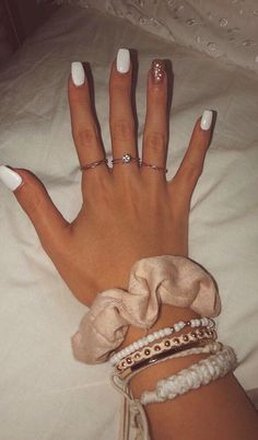 cute nail colors 2019 is part of nails - cute nail colors You can collect images you discovered organize them, add your own ideas to your collections and share with other people Aycrlic Nails, Prom Nails, Cute Nails, Pretty Nails, Hair And Nails, Coffin Nails, Classy Nails, Nail Nail, Stylish Nails