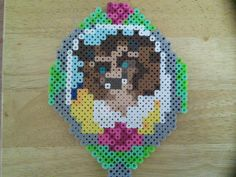 Magic Mirror - Beauty and the Beast perler beads by FluffyRosey