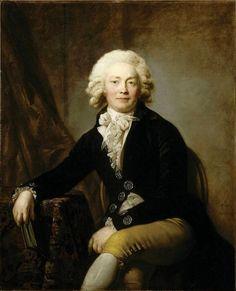 1791 Anton Graff - Christophe Urbanowski | History of fashion in art & photo