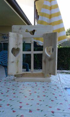 balconcino legno