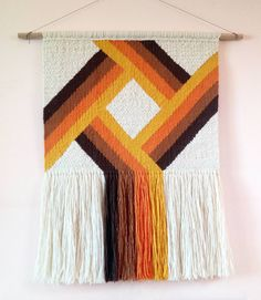 Handwoven large wall hanging