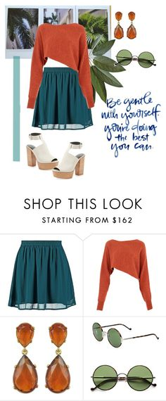 """Blue waters"" by cosova ❤ liked on Polyvore featuring even&odd, KEEP ME, Crea Concept, Kenneth Jay Lane, Ralph Lauren, Rebecca Minkoff, redwhiteandblue and july4th"