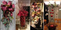 Decoração chic e criativa para o Natal e festas sem gastar muito! |Portal Tudo Aqui