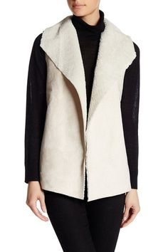 Faux Shearling Vest by MADISON & LOLA on @nordstrom_rack
