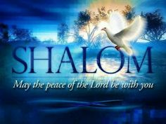Shalom Psalm 122:6 Pray for the peace of Jerusalem: they shall prosper that love thee.