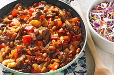 Cowboy Beef & Bean Skillet recipe