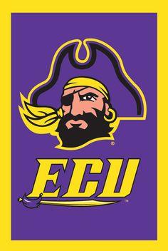 ECU East Carolina University pirates