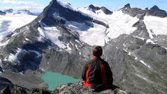 STETIND: Ut fra Leirvassbu, endel ur underveis, litt bratt på slutten, men utsikten er fantastisk. Foto: OTTO LUND Gps Bike, Route Planner, Lofoten, Cool Bikes, Norway, Mount Everest, Mountains, World, Lund