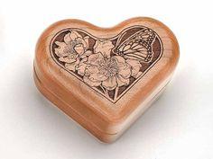 """Music Box 3"""" Heart - Butterfly - Claire de Lune Wilderness Woods http://www.amazon.com/dp/B00IK0C758/ref=cm_sw_r_pi_dp_ckGlub0JZ37M8"""