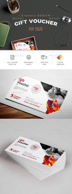 Gift Vouchers Template   Template, Print templates and Gift