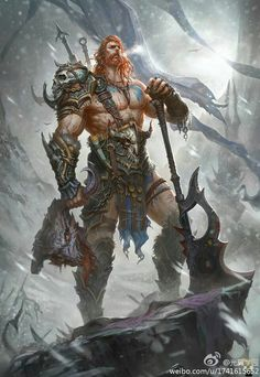Roided barbarians, anabolic druids, sexy satyrs, and more. High Fantasy, Fantasy Male, Fantasy Warrior, Fantasy Rpg, Medieval Fantasy, Fantasy World, Fantasy Character Design, Character Concept, Character Inspiration